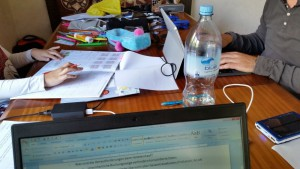 Familiäres Coworking im Ferienhaus-Wohnzimmer
